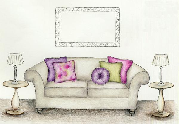 Stylish interior design manchester stockport marple cheadle joanne ibbotson interior for Sofa design sketch